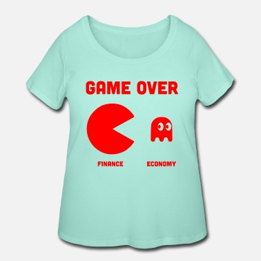 Solution GAME OVER 3 - Women's Plus Size T-Shirt