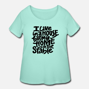 Stables The Stables - Women's Plus Size T-Shirt