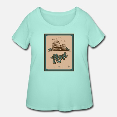 Bandera Rome - Women's Plus Size T-Shirt