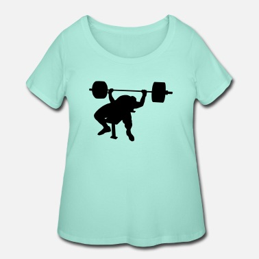 Bench Bench press - Women's Plus Size T-Shirt