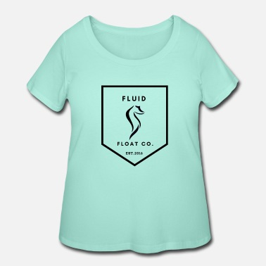 Float Tank Fluid Float Co - Women's Plus Size T-Shirt