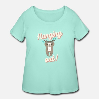 Hang Out Hanging out - Women's Plus Size T-Shirt