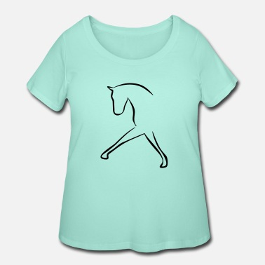 Dressage dressage - Women's Plus Size T-Shirt