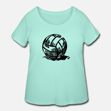 Volley volley - Women's Plus Size T-Shirt