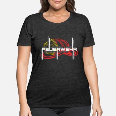 Characteristic Firefighter Characteristics of a fireman - Women's Plus Size T-Shirt