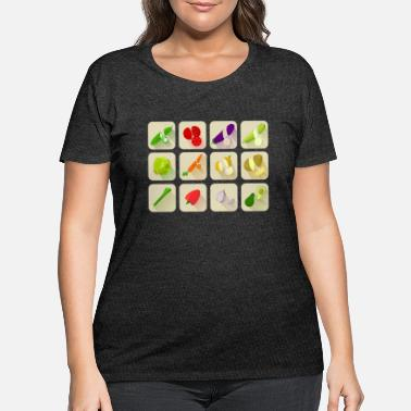 Vegetables vegetables - Women's Plus Size T-Shirt