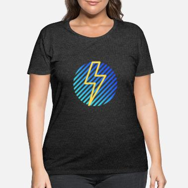Lightning Lightning - Women's Plus Size T-Shirt