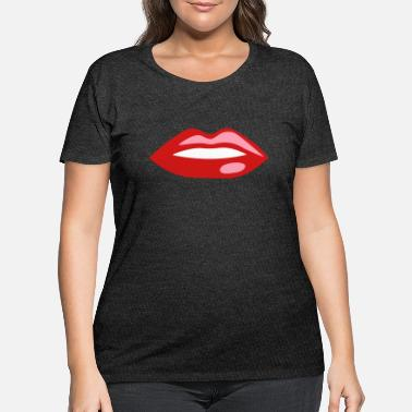 Mouth mouth - Women's Plus Size T-Shirt