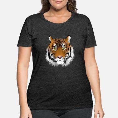 Tiger Face - Women's Plus Size T-Shirt
