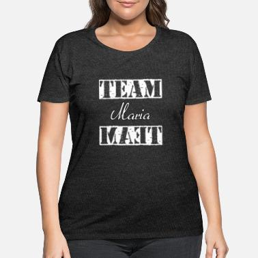 Maria Team Maria - Women's Plus Size T-Shirt