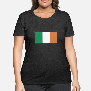 Ireland Flag of Ireland, Irelands flag, Ireland flag - Women's Plus Size T-Shirt