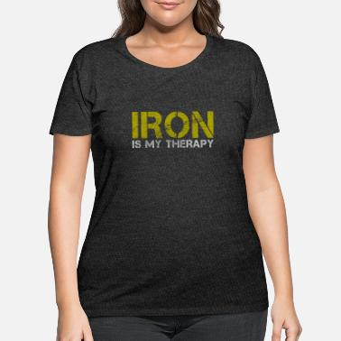 Iron Iron - Women's Plus Size T-Shirt