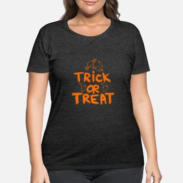 Trick Or Treat Trick or Treat - Women's Plus Size T-Shirt