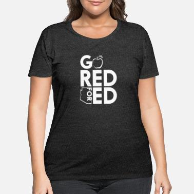 a52fa1b9 Red For Ed logo - Women's Plus Size T-Shirt