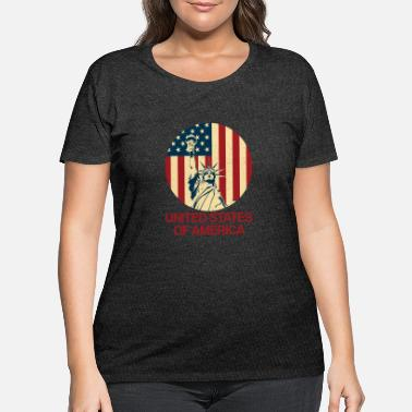 United States United States Of America - Women's Plus Size T-Shirt
