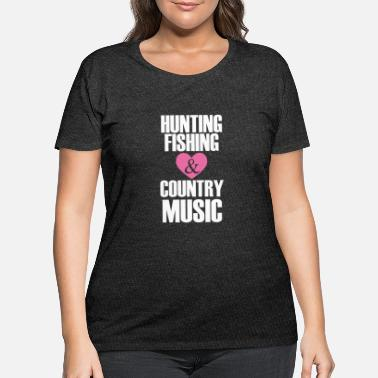 Hunting hunting fishing - Women's Plus Size T-Shirt