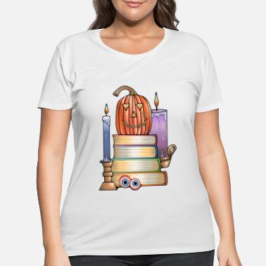 Library Haunted Library - Women's Plus Size T-Shirt