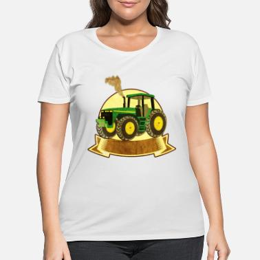 Trecker Bulldog Schlepper Traktor Trecker Landwirtschaft - Women's Plus Size T-Shirt