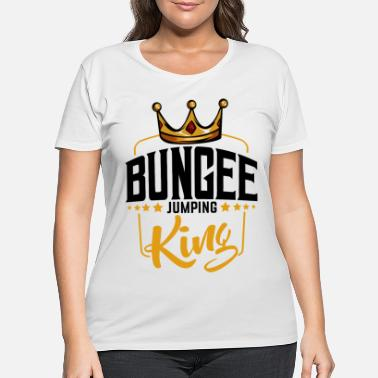 Bungee Bungee Jumping - Women's Plus Size T-Shirt