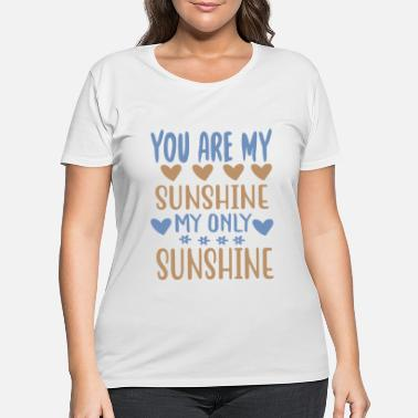 Natural You are my - Adventure Design - Women's Plus Size T-Shirt