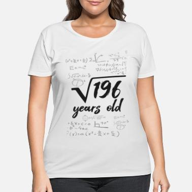 Mathematics 14 years old root mathematician years - Women's Plus Size T-Shirt