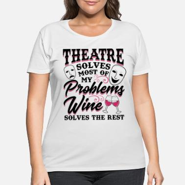 Broadway Fun Theatre Gift For Broadway Lovers - Women's Plus Size T-Shirt