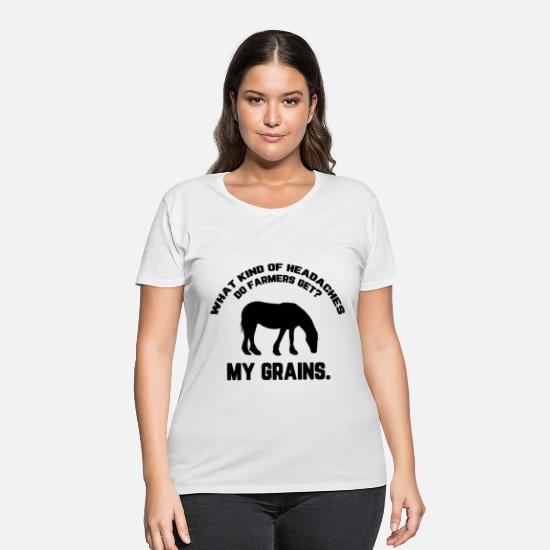 Horseman T-Shirts - Riding Sports Ride Horse Gifts Horses Pony Present - Women's Plus Size T-Shirt white