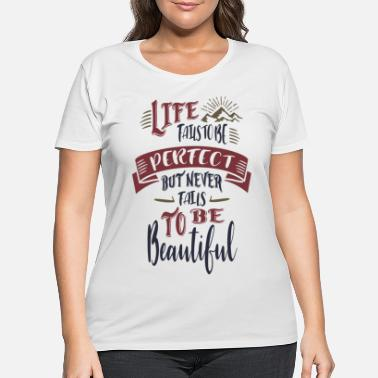 Risk Motivational - Women's Plus Size T-Shirt