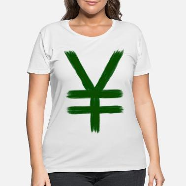 Yen Money yen - Women's Plus Size T-Shirt