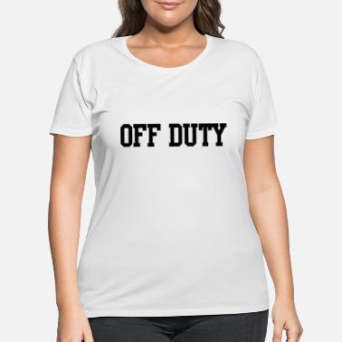 Mw2 Off duty - Women's Plus Size T-Shirt