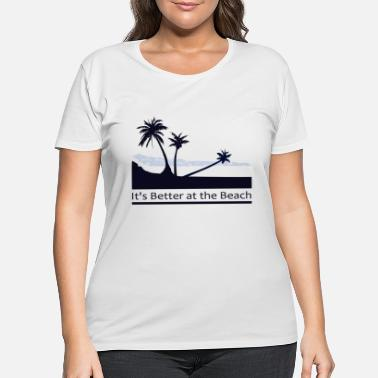 Palm Trees Palm Trees - Women's Plus Size T-Shirt