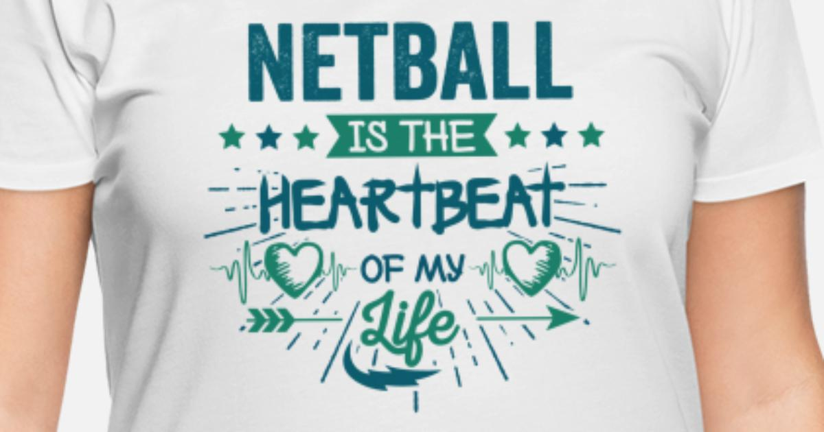 Best Hilarious Netball Team Quotes Love Sayings Women\'s Plus Size T-Shirt |  Spreadshirt
