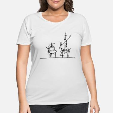 Don Quijote Don Quijote - Women's Plus Size T-Shirt