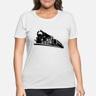Bnsf train engine - Women's Plus Size T-Shirt