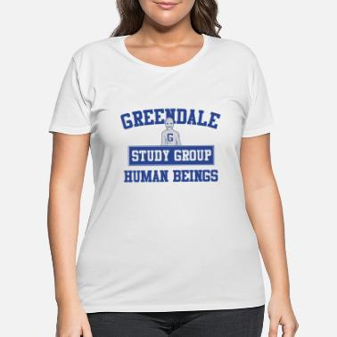 Community Greendale Study Group - Women's Plus Size T-Shirt