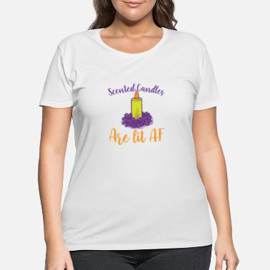Scent scented candles - Women's Plus Size T-Shirt