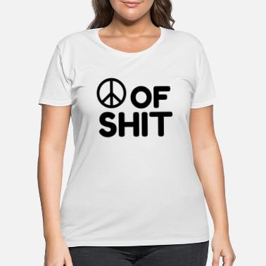 Sumu Lee Peace Shit - Women's Plus Size T-Shirt