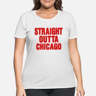 Property Of STRAIGHT OUTTA CHICAGO™ - Women's Plus Size T-Shirt