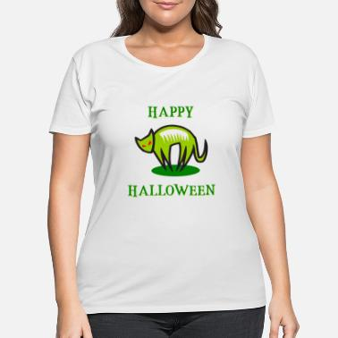 Grave Halloween - Pumpkin - Witch - Zombie - Dracula - Women's Plus Size T-Shirt