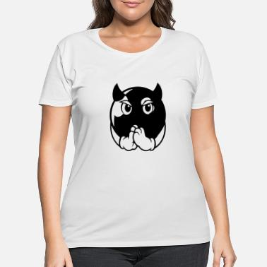 Vegas devil ball - Women's Plus Size T-Shirt