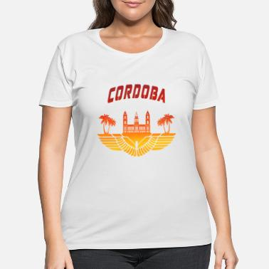 Metropolis Cordoba Design - Women's Plus Size T-Shirt