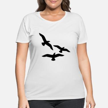 birds - Women's Plus Size T-Shirt