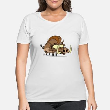 Hog Hog - Women's Plus Size T-Shirt