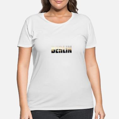 Berlin berlin - Women's Plus Size T-Shirt
