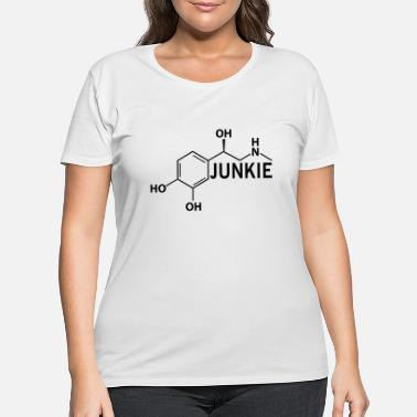 Adrenalin Junkies Adrenaline Junkie - Women's Plus Size T-Shirt