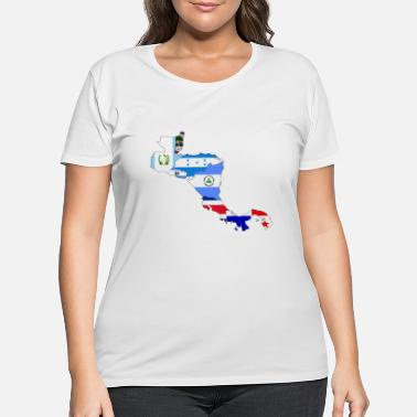 Central America central america - Women's Plus Size T-Shirt
