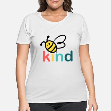 Bee Bee Kind - Women's Plus Size T-Shirt