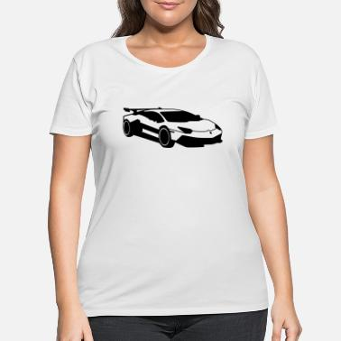 Renner Car,Renner,Sportscar,Vehicle,V8 ✔ - Women's Plus Size T-Shirt