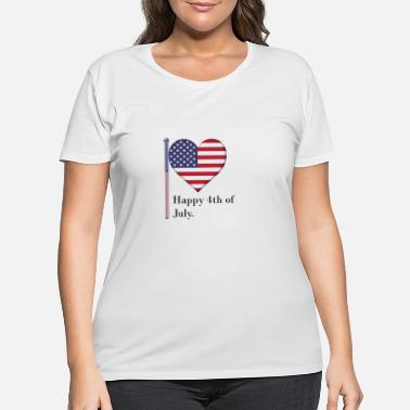 The British Empire Independence Day - Women's Plus Size T-Shirt