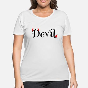 Devil Male devil - Women's Plus Size T-Shirt